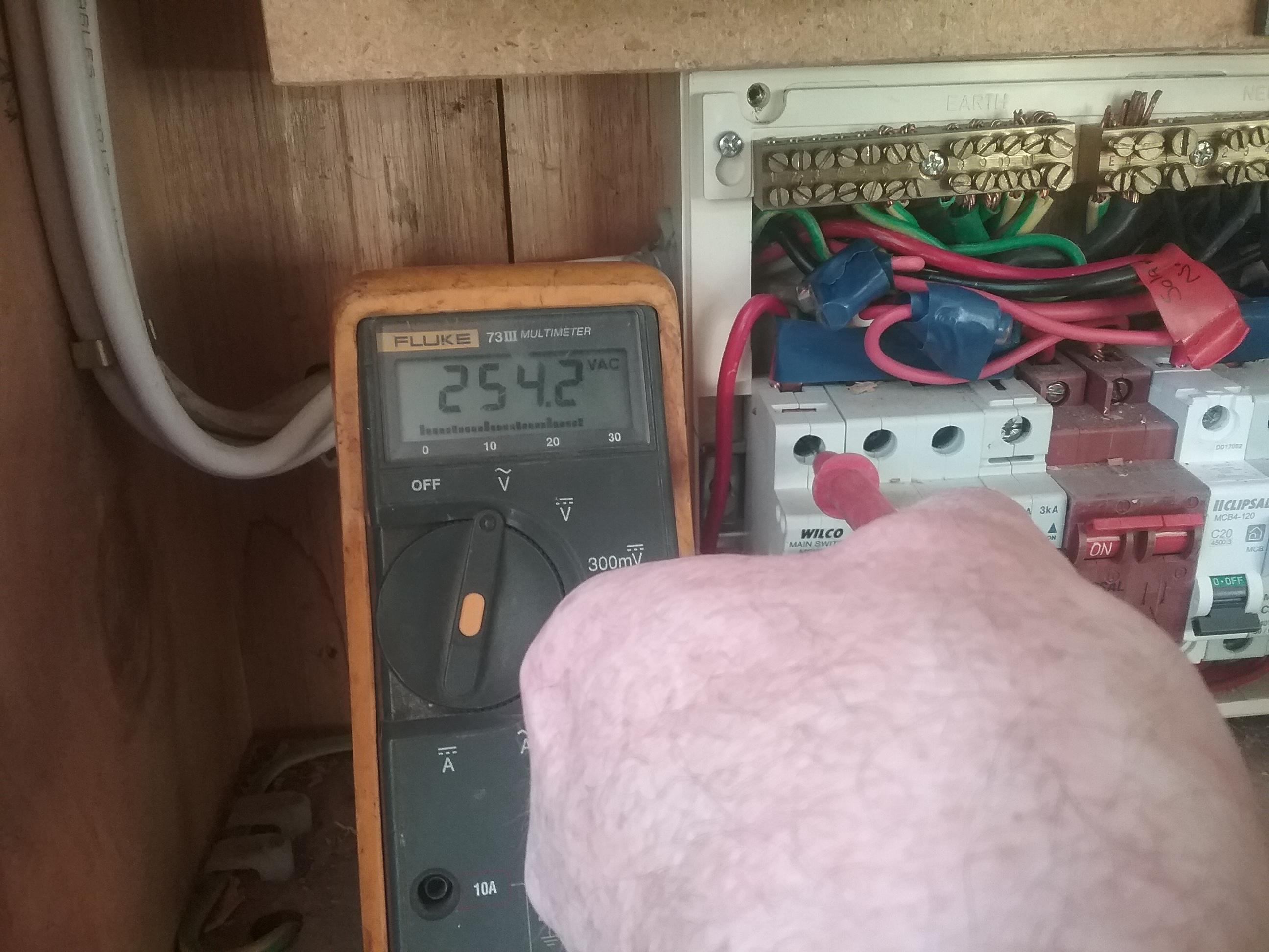 Line Side Voltage